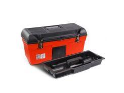 "Ящик для инструмента с металлическими замками 24"""" 610x255x251мм. INTERTOOL BX-1123"