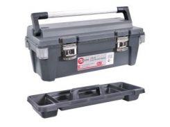 "Ящик для инструмента с металлическими замками 25.5"""" 650x275x265мм INTERTOOL BX-6025"