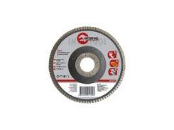 Диск шлифовальный лепестковый 125x22 мм, зерно K80 INTERTOOL BT-0208