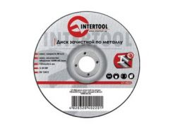 Диск зачистной по металлу 180x6x22.2мм INTERTOOL CT-4024