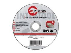 Диск отрезной по камню INTERTOOL CT-5010