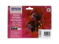 Комплект картриджей EPSON (T0735) C79/CX3900/4900/5900/6900F (Black/Cyan/Magenta/Yellow) (C13T10554A