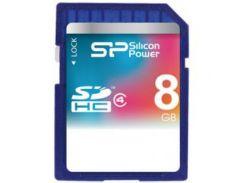 карта памяти silicon power sdhc 8gb class 4