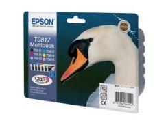 Комплект картриджей Epson (T0817) Stylus Photo R270/290/1410 (C13T11174A10) Multipack