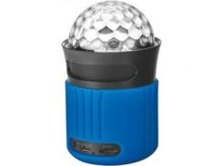Акустическая система Trust Dixxo Go Wireless Bluetooth Speaker with party lights - blue (21347)
