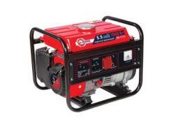 Генератор бензиновый 1,2 кВт., ном. 1 кВт., 3,0 л.с., 4-х тактный, ручной пуск 26,5 кг. INTERTOOL DT-1111