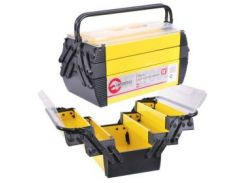 """Ящик для инструментов металлический, 18"""", 5 секций, 454x210x230 мм INTERTOOL BX-5018"""