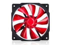 Вентилятор Xigmatek XOF-F1254 Red (CFS-OXGKS-WU4), 120x120х25 мм, 3-pin