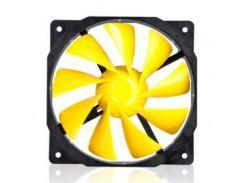Вентилятор Xigmatek XOF-F1256 Yellow (CFS-OXGKS-WU6), 120x120х25 мм, 3-pin