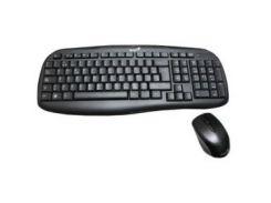 Комплект (клавиатура, мышь) беспроводной Genius KB-8000X (31340005103) Black USB