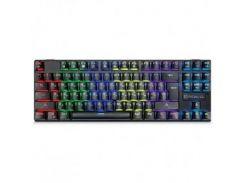 Клавиатура REAL-EL M28 RGB TKL USB черный UAH