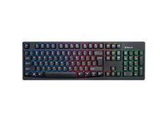 Клавиатура REAL-EL 7000 Comfort Backlit, black