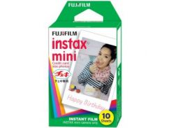 Кассеты FUJI Colorfilm Instax Mini Glossy