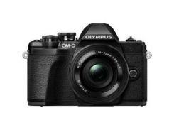 Цифровая камера OLYMPUS E-M10 mark III Pancake Double Zoom 14-42+40-150Kit черный/черный/черный