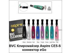 BVC Клиромайзер Aspire CE5-S коннектор eGo