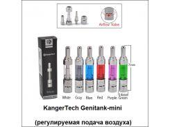 Двухспиралевый клиромайзер KangerTech Genitank-Mini (регулируемая подача воздуха)