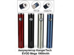 Аккумулятор KangerTech EVOD Mega 1900mAh USB