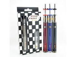 Электронная сигарета EVOD Twist-III 1600 mah + клиромайзер Aerotank M16