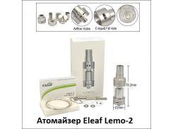 (Клон) Атомайзера Eleaf Lemo-2 Нержавеющая сталь