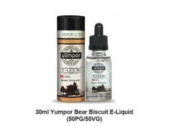 """Жидкость Yumpor PREMIUM 30 ml (Стекло) """"Bear Biscuit"""" (Медвежий бисквит)"""