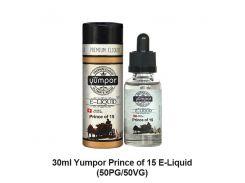 """Жидкость Yumpor PREMIUM 30 ml (Стекло) """"Prince of 15"""" (Пятнадцатый принц)"""