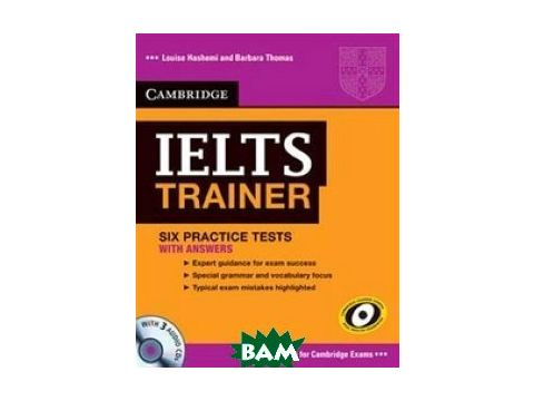 IELTS Trainer Practice Tests with Answers and Audio CDs (3) (+ Audio CD) Киев
