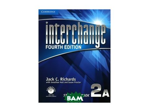 Interchange Level 2 Student`s Book A (+ DVD) Киев