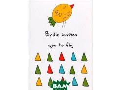 Birdie Invites You to Fly. Блокнот