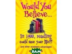 In 1400, Reading Could Save Your Life?!