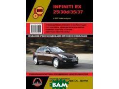 Infiniti EX 25 / 30d / 35 / 37 с 2007 года выпуска. Руководство по ремонту и эксплуатации, регулярные и периодические проверки, помощь в дороге и гараже, цветные электросхемы