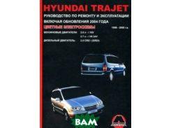 Hyundai Trajet. Руководство по ремонту и эксплуатации включая обновления 2004 года. 1999-2006 годов выпуска