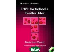 PET for Schools Testbuilder: Student`s Book&CD Pack (+ Audio CD)
