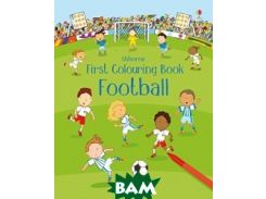 First Colouring Book. Football