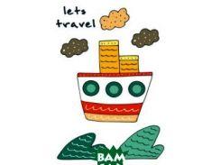 Блокнот для записей Let`s travel