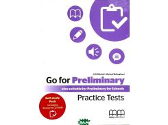 Go for Preliminary Practice Tests. Student`s Book (Self Study Pack with Resource CD) (+ CD-ROM)