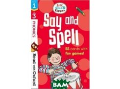 Read with Oxf: Stages 1-3. Biff, Chip and Kipper: Say and Spell Flashcards