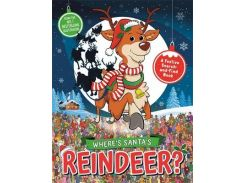 Where`s Santa`s Reindeer? A Festive Search-and-Find Book