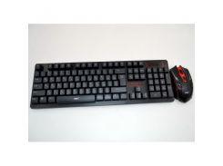 Беспроводная русская клавиатура и мышка HK6500