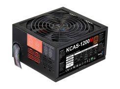 Блок питания Aerocool 1200W KCAS1200М 140mm 20+4pin 1x4+4pin SATA х 6 Molex 10x4pin 8x6+2pin кабеля модульные