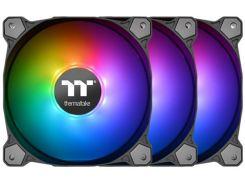Набор вентиляторов Thermaltake Pure 14 ARGB Sync Radiator Fan TT Premium Edition (комплект из 3-х) (CL-F080-PL14SW-A)