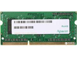 Оперативная память Apacer SODIMM DDR3-1600 2048MB PC3-12800 (DS.02G2K.HAM)