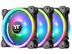 Набор вентиляторов Thermaltake Riing Trio 14 RGB Radiator Fan TT Premium Edition (комплект из 3-х) (CL-F077-PL14SW-A)