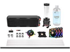 Набор для сборки СВО Thermaltake Pacific M360 D5 Hard Tube Water Cooling Kit (CL-W217-CU00SW-A)