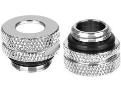 Фитинг Thermaltake Pacific G1/4 Pressure Equalizer Stop Plug w/ O-Ring Chrome (CL-W086-CU00SL-A)