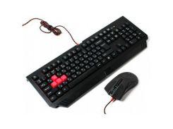 Комплект (клавиатура, мышь) A4Tech B1500 Bloody Black USB