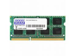 Оперативная память Goodram SoDIMM DDR3 4GB 1600 MHz (GR1600S364L11/4G)