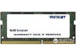 Оперативная память Patriot SODIMM DDR4-2400 4096MB PC4-19200 Signature Line (PSD44G240081S)