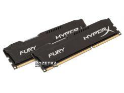 Оперативная память HyperX DDR3-1600 8192MB PC3-12800 (Kit of 2x4096) FURY Black (HX316C10FBK2/8)