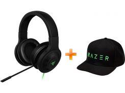 Наушники Razer Kraken Essential V2 Black (RZ04-01720100-R3R1) + Кепка Razer Rising Snapback Cap (RGF7U20F3N-08-0500) в подарок!