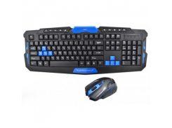 Игровая русская беспроводная клавиатура AirBot